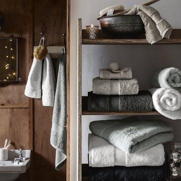 Egyptian Cotton Towel, Hand Towel, Pearl Grey