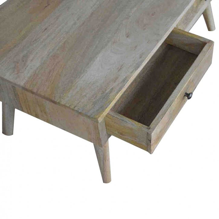 Nordic Style 2 Drawer Coffee Table