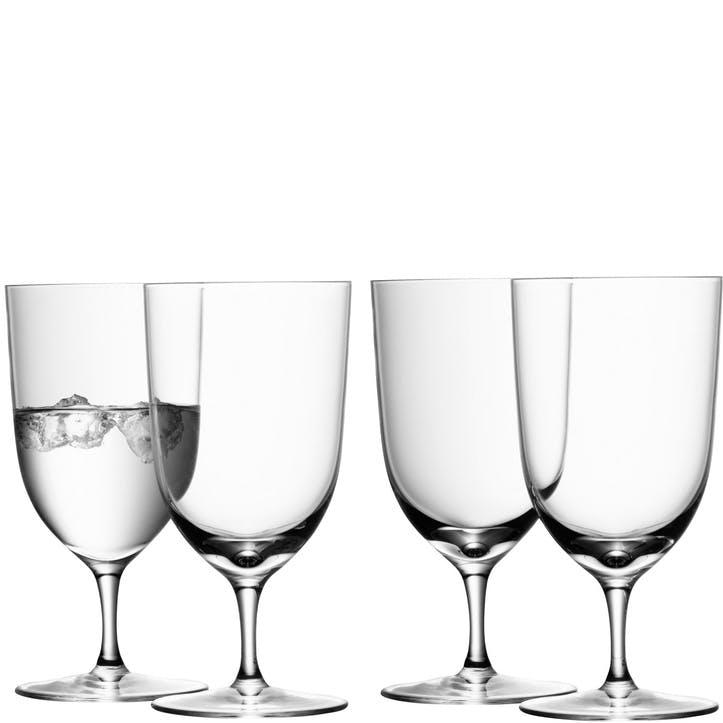 LSA Wine Water Glass 400ml, Set of 4