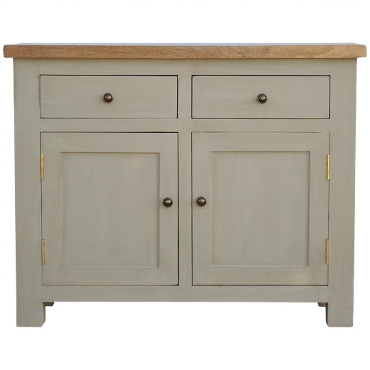 Cotswold Sideboard, Grey/Natural