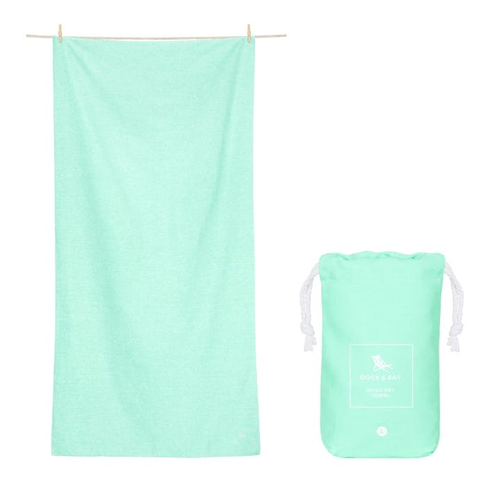 Active Yoga Towel; Rainforest Green; Large