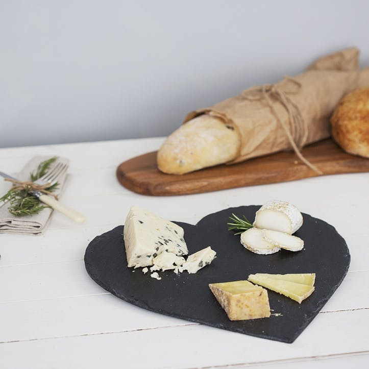 Heart Cheese Board