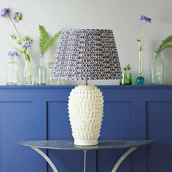 Stucco Table Lamp