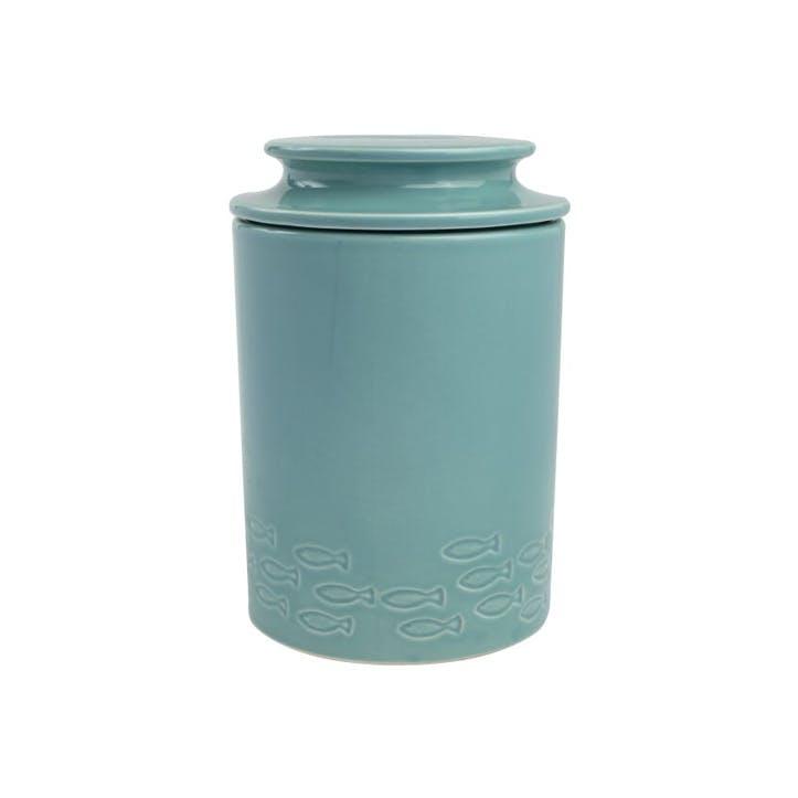 Ocean Whale Storage Jar