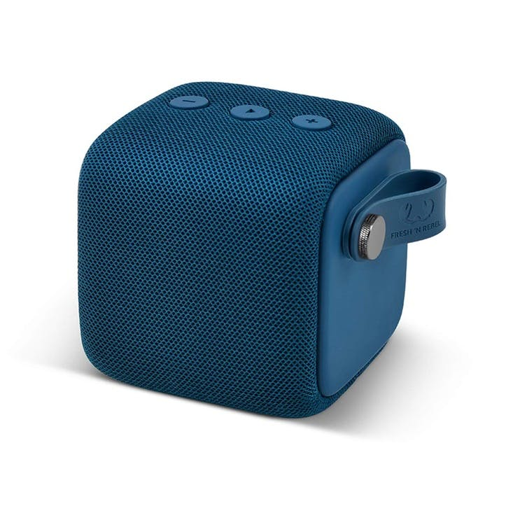 Bold Waterproof Bluetooth Speaker - Small; Indigo