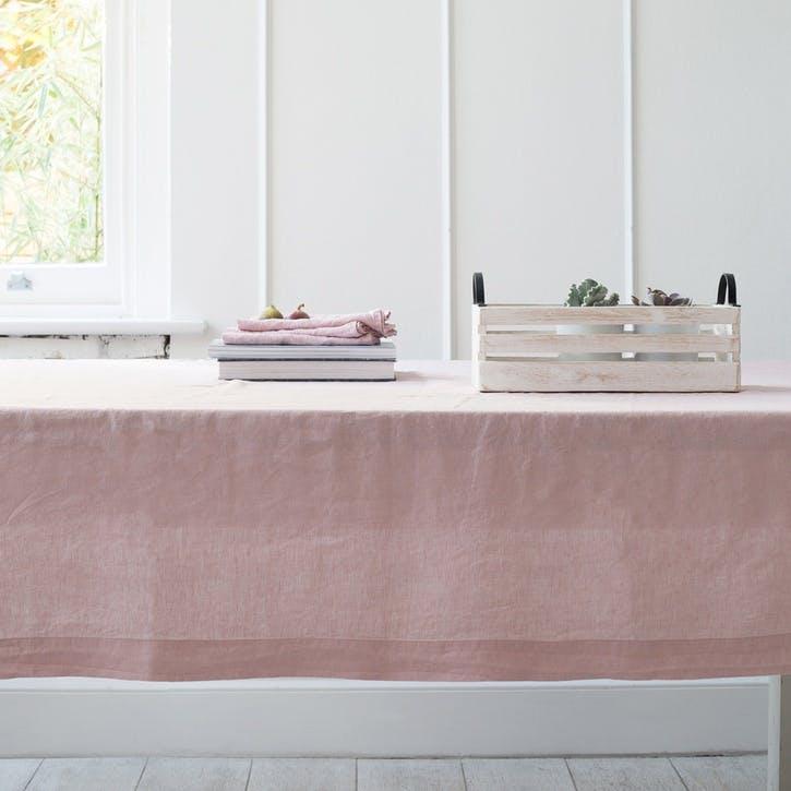 Linen Set Of 4 Napkins - 45 x 45cm; Blush