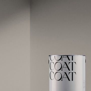 Flat Matt Wall & Ceiling Paint, Sunday Soul Warm Brownish Grey 2.5L