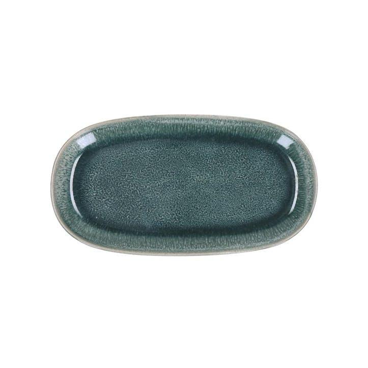 Bude Oval Dish, Set of 2, Blue