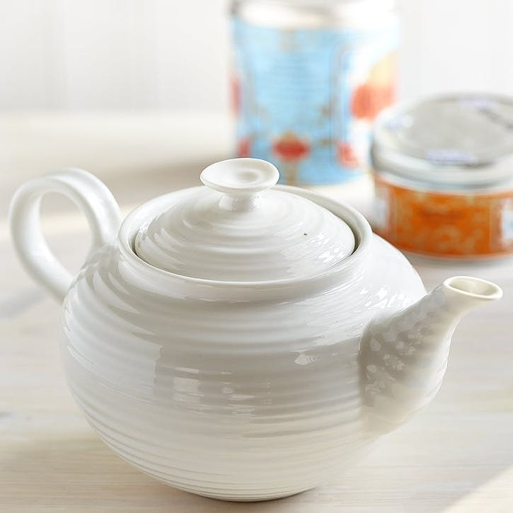 Teapot - Large; White