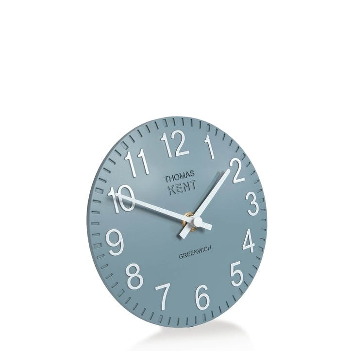 Cotswold Mantel Clock, 15cm, Denim