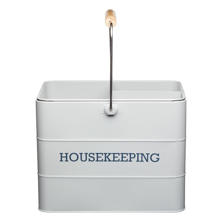 Living Nostalgia Housekeeping Box in French Grey