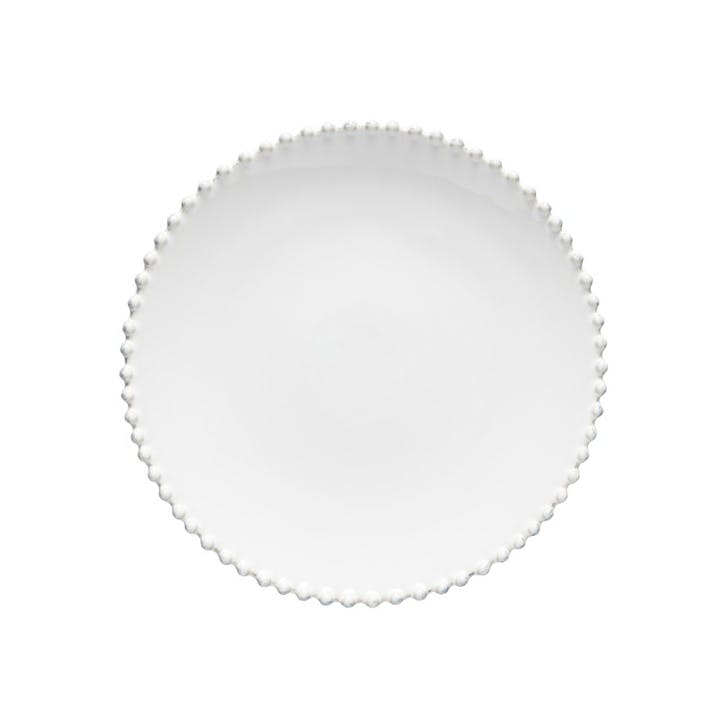 Pearl Charger Plates/ Platters, Set of 2