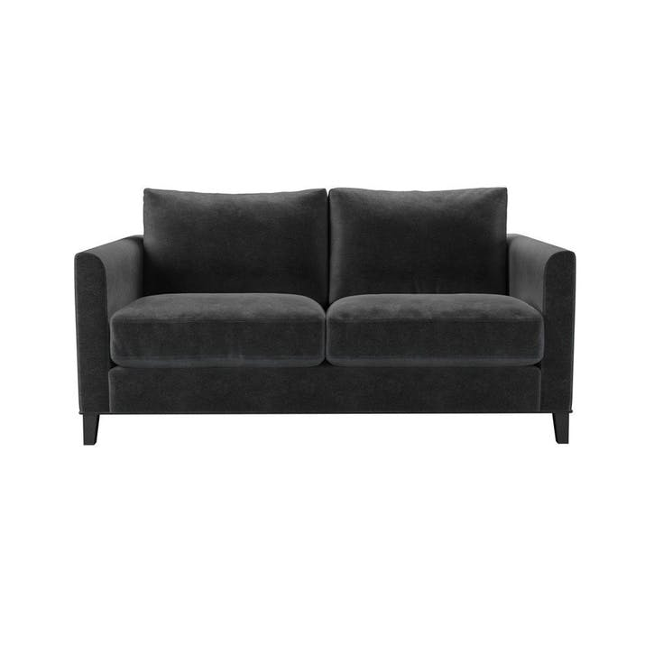 The Izzy, Two Seat Sofa, Armour Smart Velvet