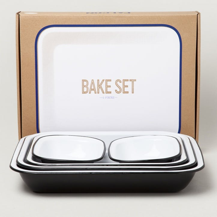 Bake Set, Coal Black