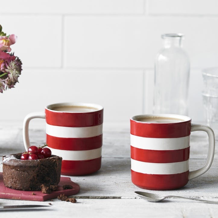 Cornish Red Tea for Two Set