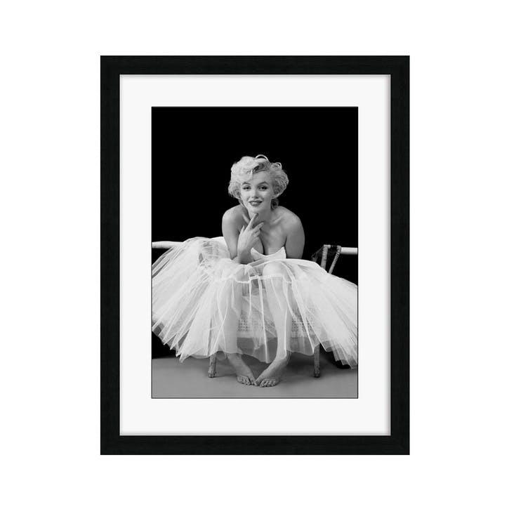 Marilyn Monroe Ballerina Framed Print, 88.6 x 68.6cm