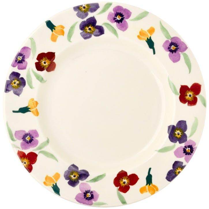Wallflower Plate, 27cm
