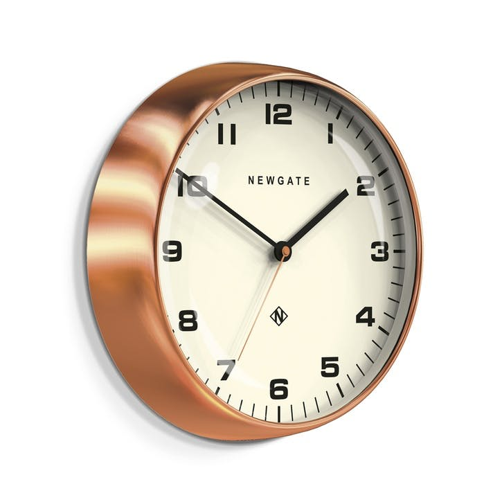 The Chrysler Wall Clock, Dia. 40cm, Copper