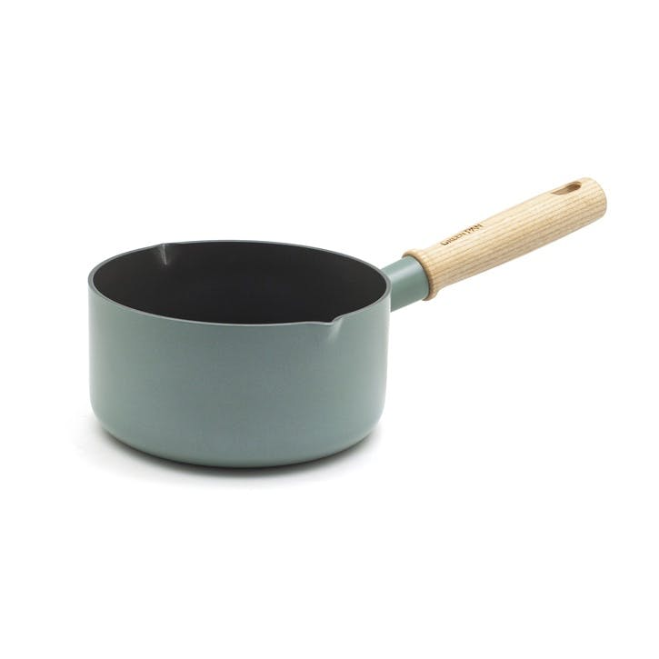 Mayflower Ceramic Non-Stick Milkpan with 2 spouts - 16cm