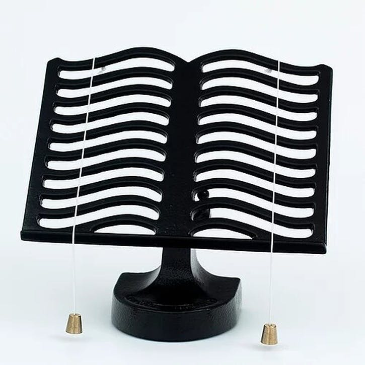 Cook Book Stand, Black