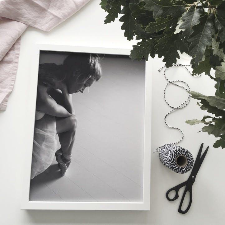 Ballet Dancer Print - 30 x 40cm