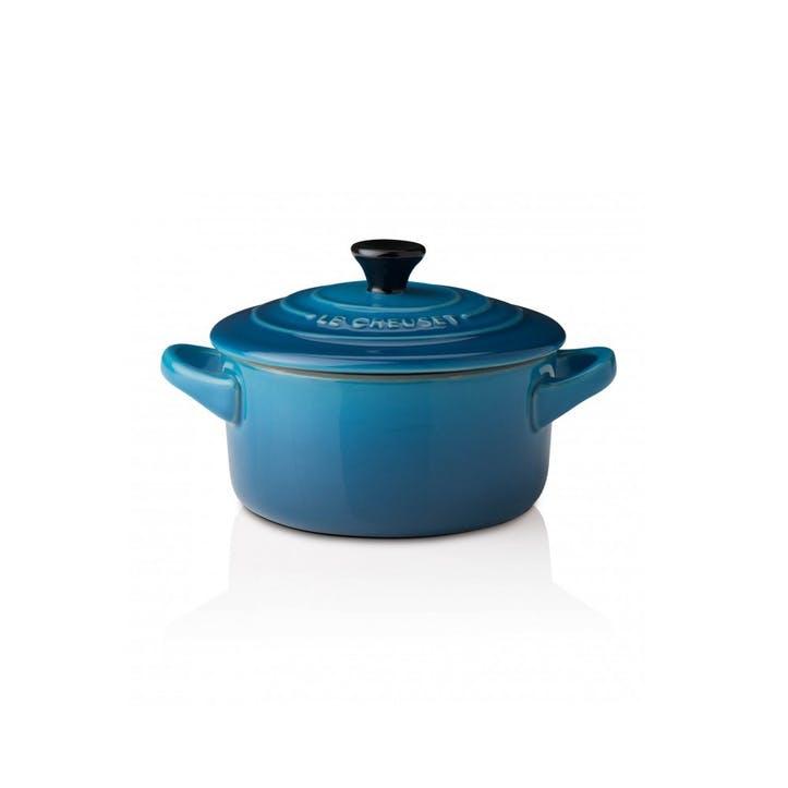 Stoneware Petite Round Casserole - 9cm; Marseille Blue