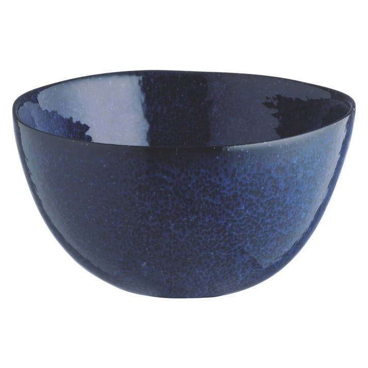 Olmo Cereal Bowl, Dark Blue