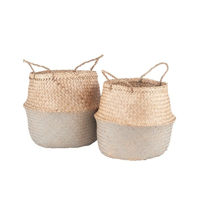 Flynn Seagrass Baskets, Set of 2