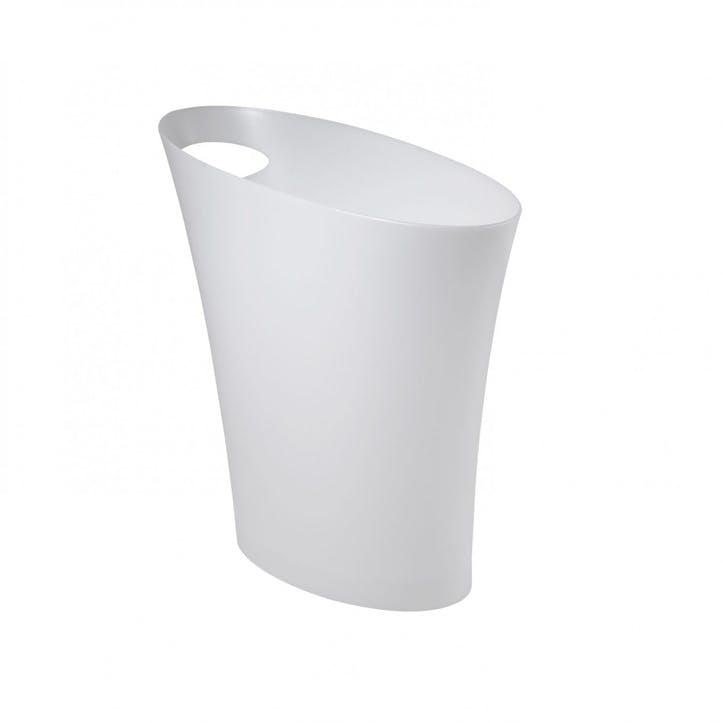 Skinny Can, Metallic White