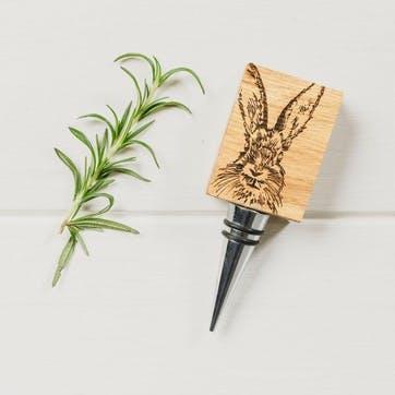 Hare Oak Bottle Stopper