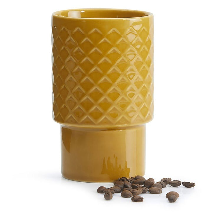 Coffee & More, Latte Mug, 400ml, Yellow