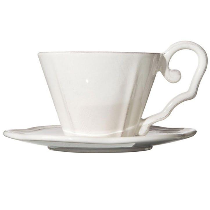 Sorano China Breakfast Cup & Saucer Set
