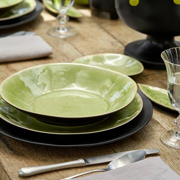 Vert Frais Pasta Plates, Set of 6