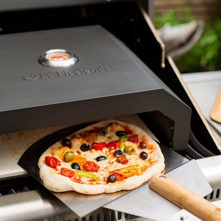 BBQ Pizza Oven, Black