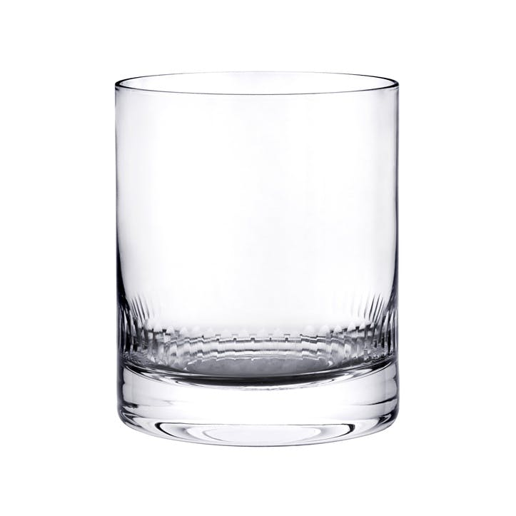Spears Crystal Whisky Glasses, Set of 2