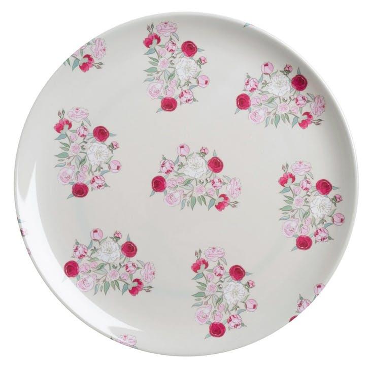 'Peony' Melamine Dinner Plate