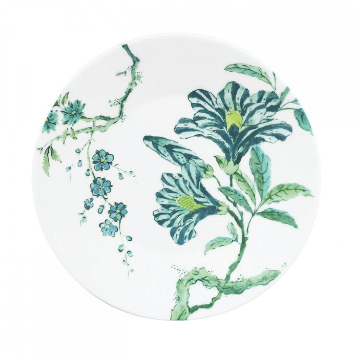 Chinoiserie Side Plate, White