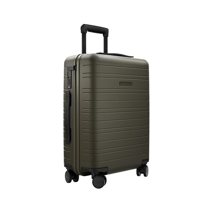H5, Cabin Trolley Suitcase, W40 X H55 X D20cm, Dark Olive