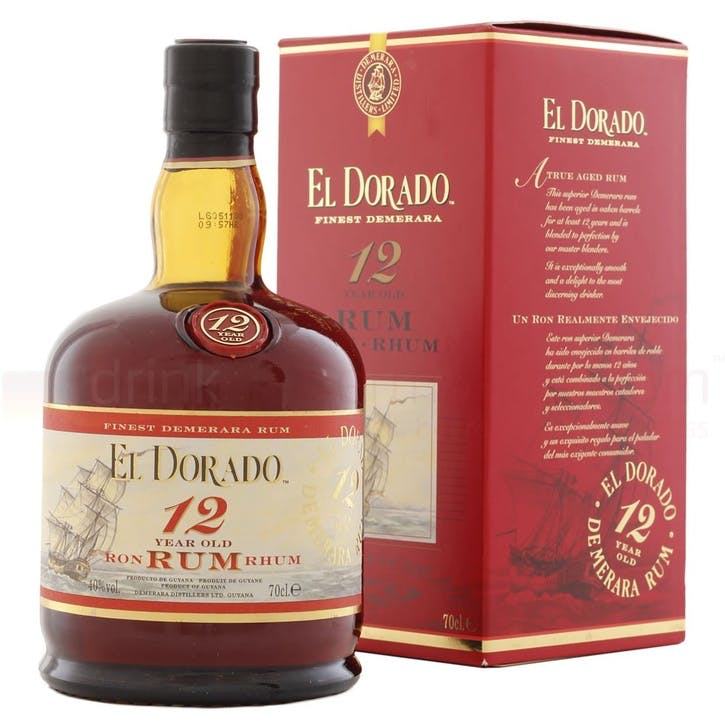 El Dorado 12 Year Old Rum 40%