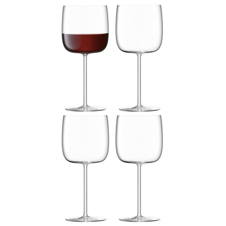 Borough Wine Glass, Set of 4, 450ml