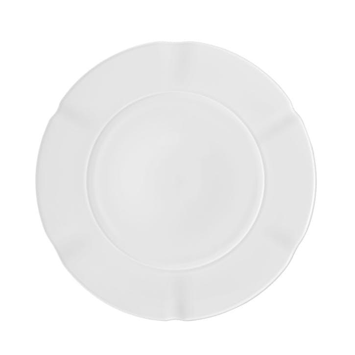 Crown White Dinner Plate