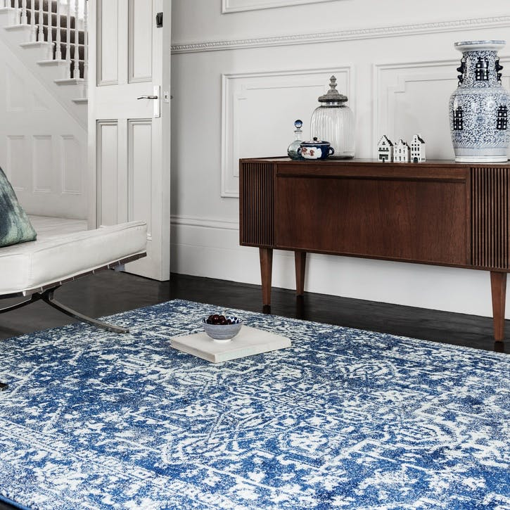 Nova Rug, 1.2 x 1.7m, Antique Navy