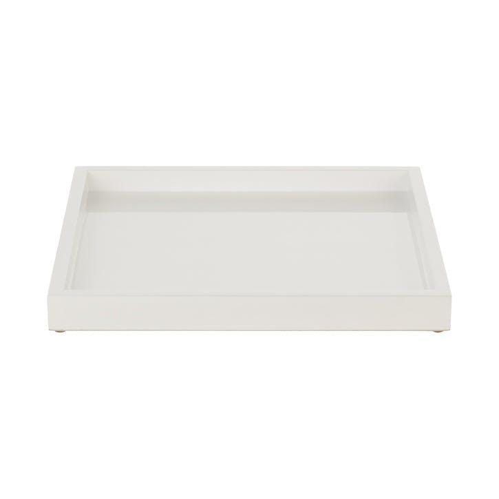 Lacquer Display Tray, Medium, White