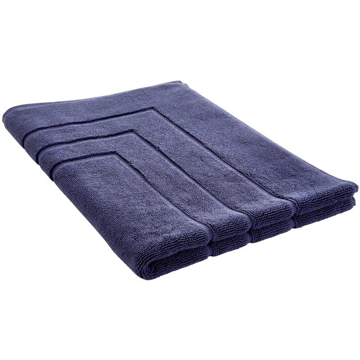Luxury Egyptian British Navy Bath Mat