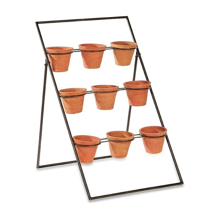 Jara Terracotta Planter Stand