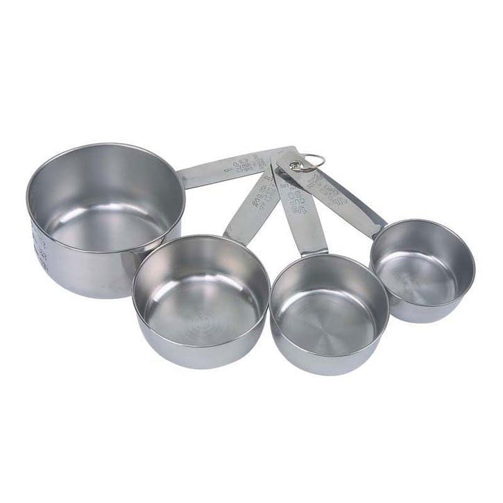 Stainless Steel Measuring Cups, Set of 4