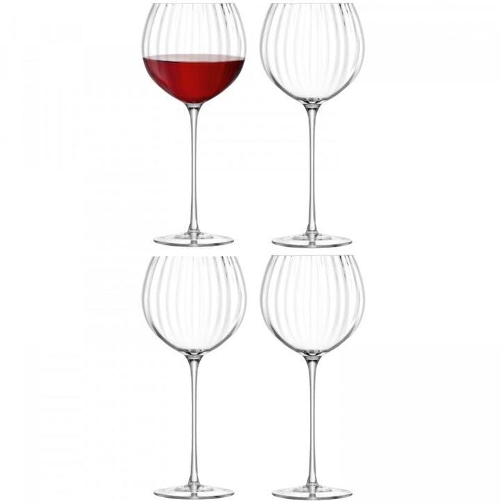 Aurelia Balloon Wine Glass, 570ml, Set of 4