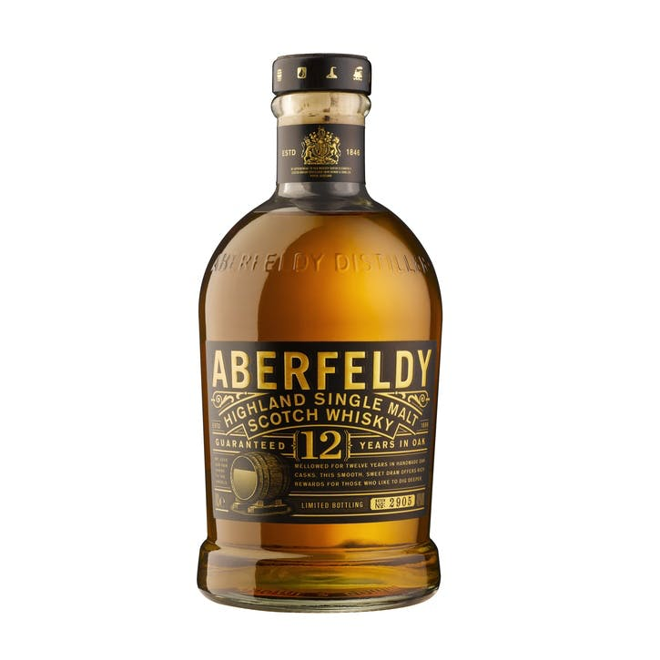 Aberfeldy 12 Year Old Single Malt Whisky 40%