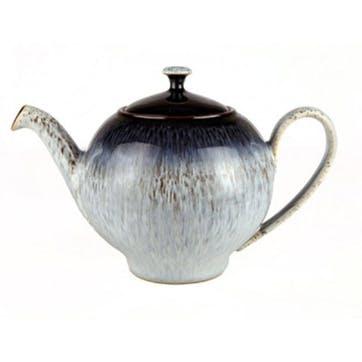 Halo Teapot, 1.25lt, Black/ Blue