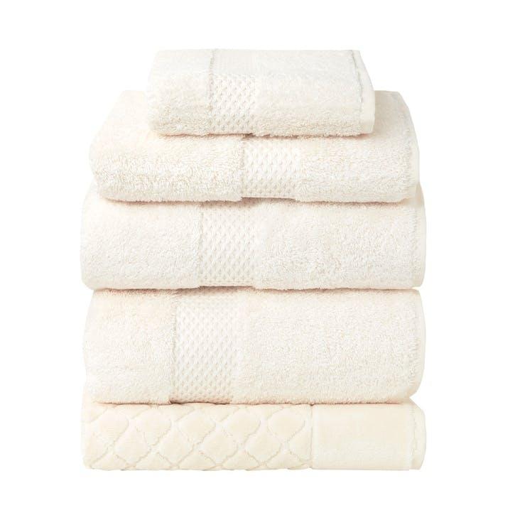 Etoile Hand Towel, Nacre